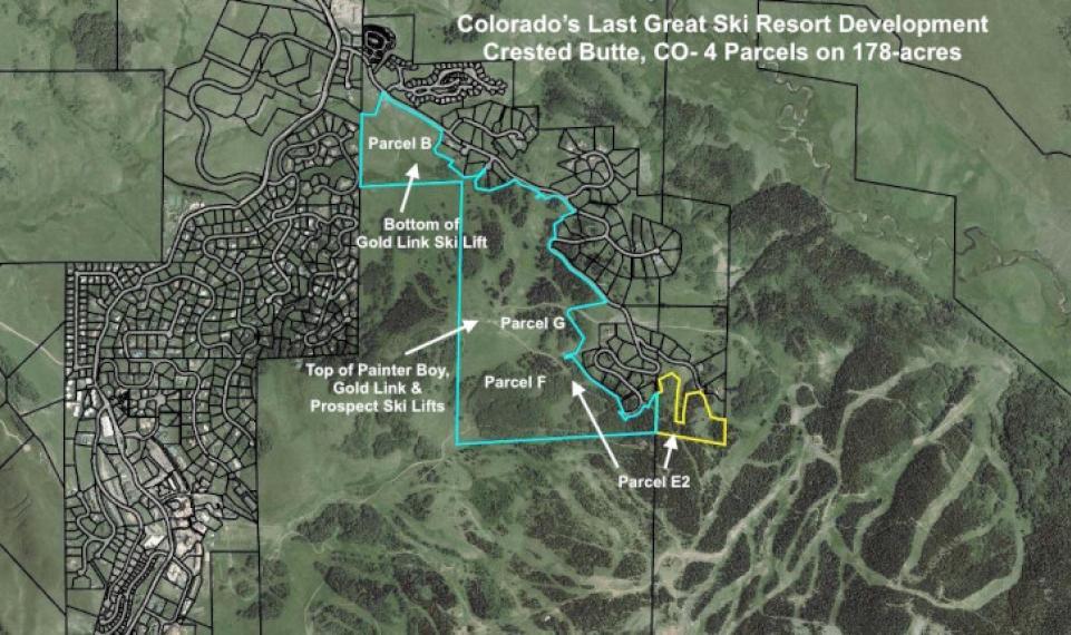 178 acre Prospect Bulk parcel County map