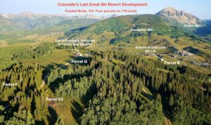 178 acres edited summer aerial toward Gothic