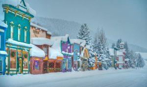 Elk Avenue Winter Daybreak 0